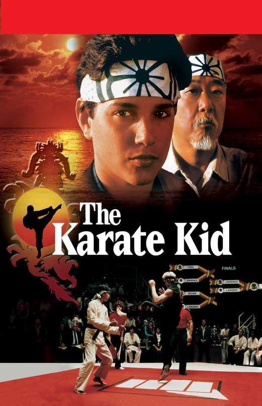 The Karate Kid 1984 Kids Movie Poster The Karate Kid 1984 Karate Kid Movie
