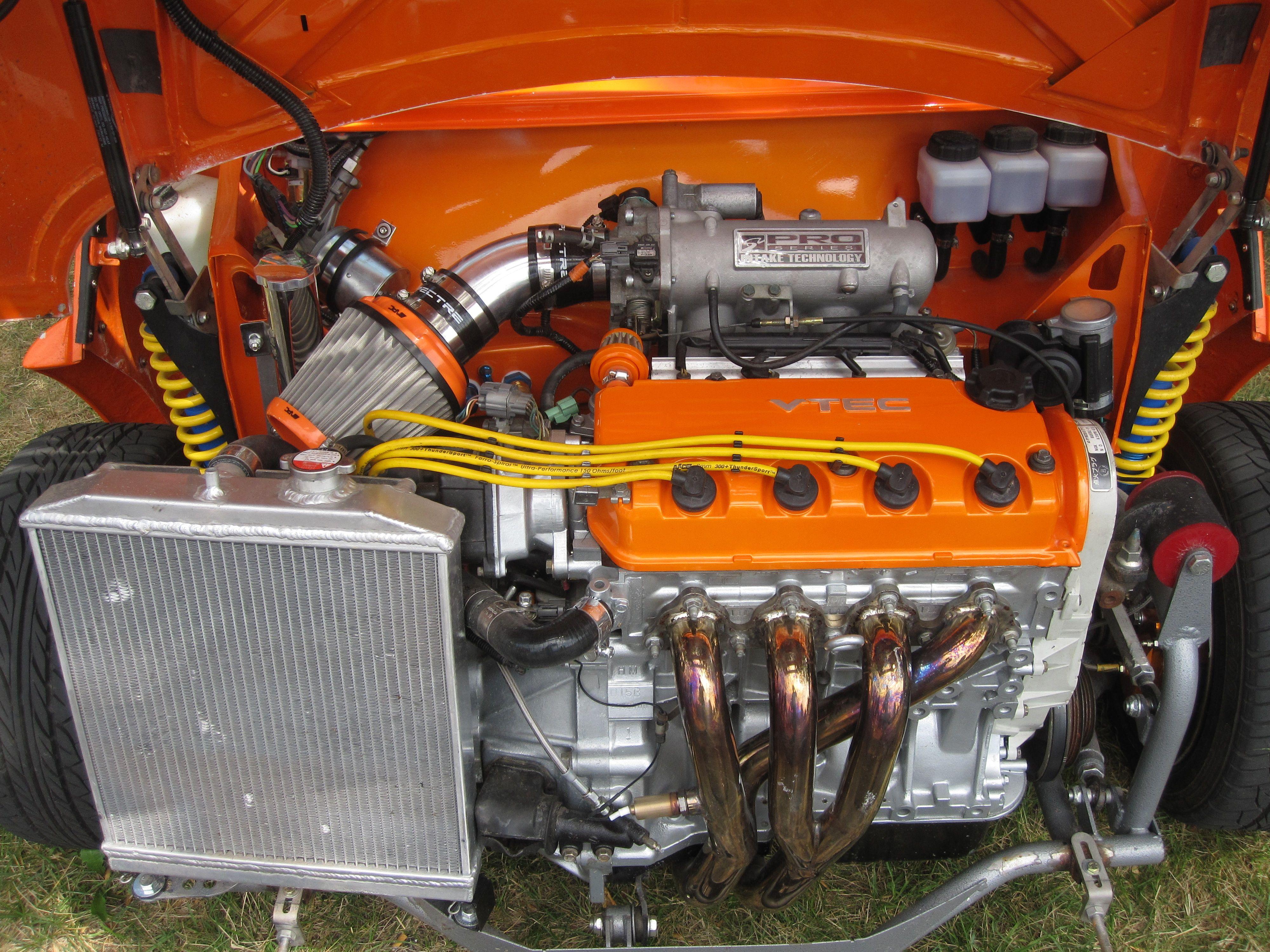 mini austin with honda vtec engine 1 5vtec   V-TEC Mini   Honda vtec