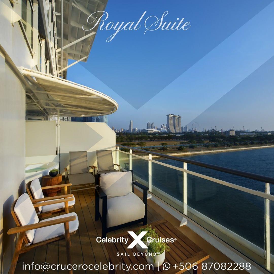 Disfruta Del Lujo Moderno Desde El Balcon De La Royal Suite De La