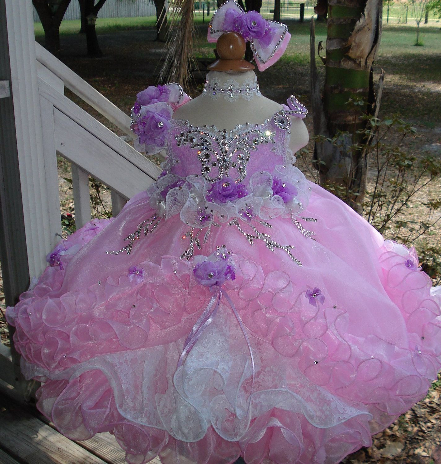 National Glitz Pageant Dress Custom Order By Nana Marie