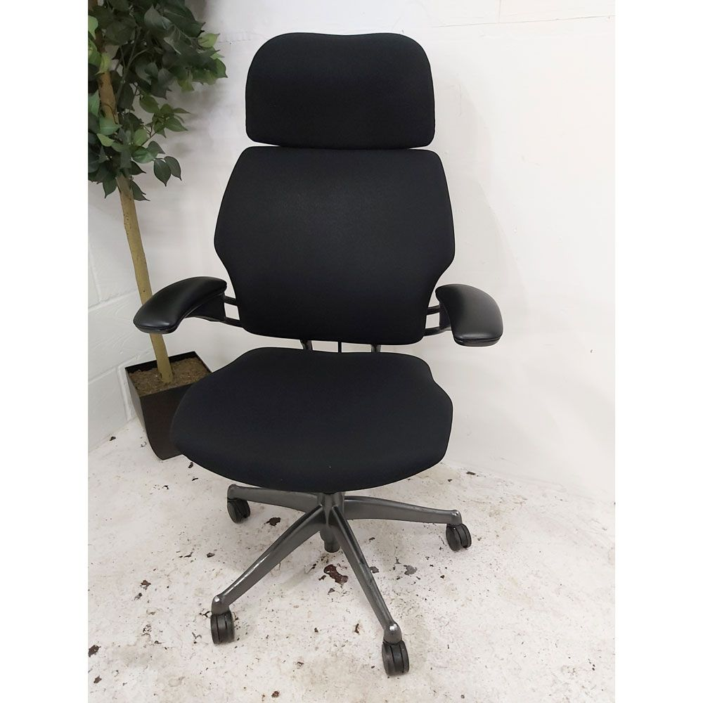 humanscale freedom task chair leather
