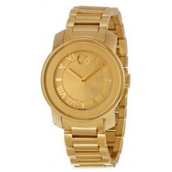 Movado 3600323 Bold Gold-Tone Ladies Watch - Gold Dial
