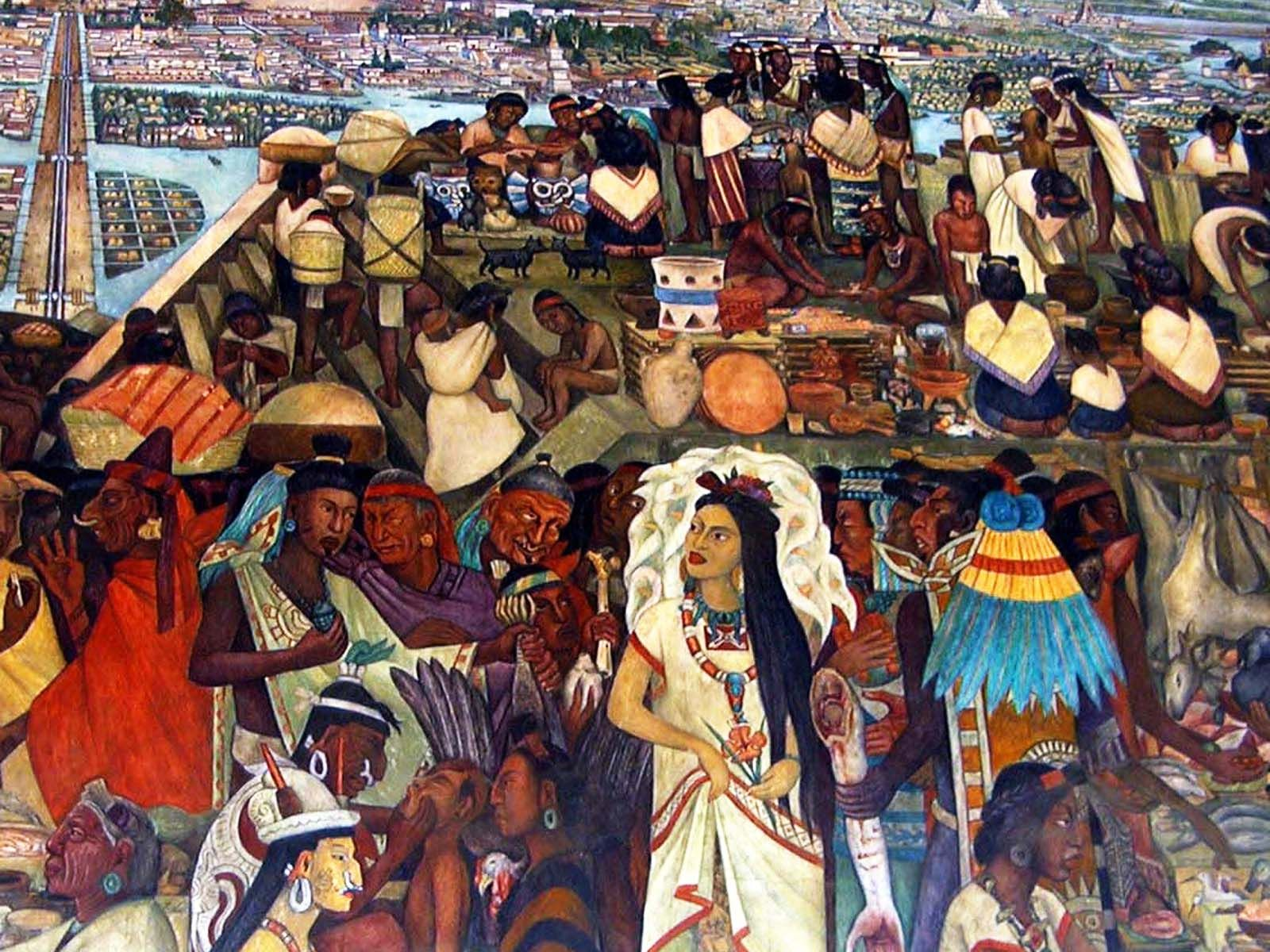 Diego de rivera mexico city art pinterest diego for Diego rivera day of the dead mural