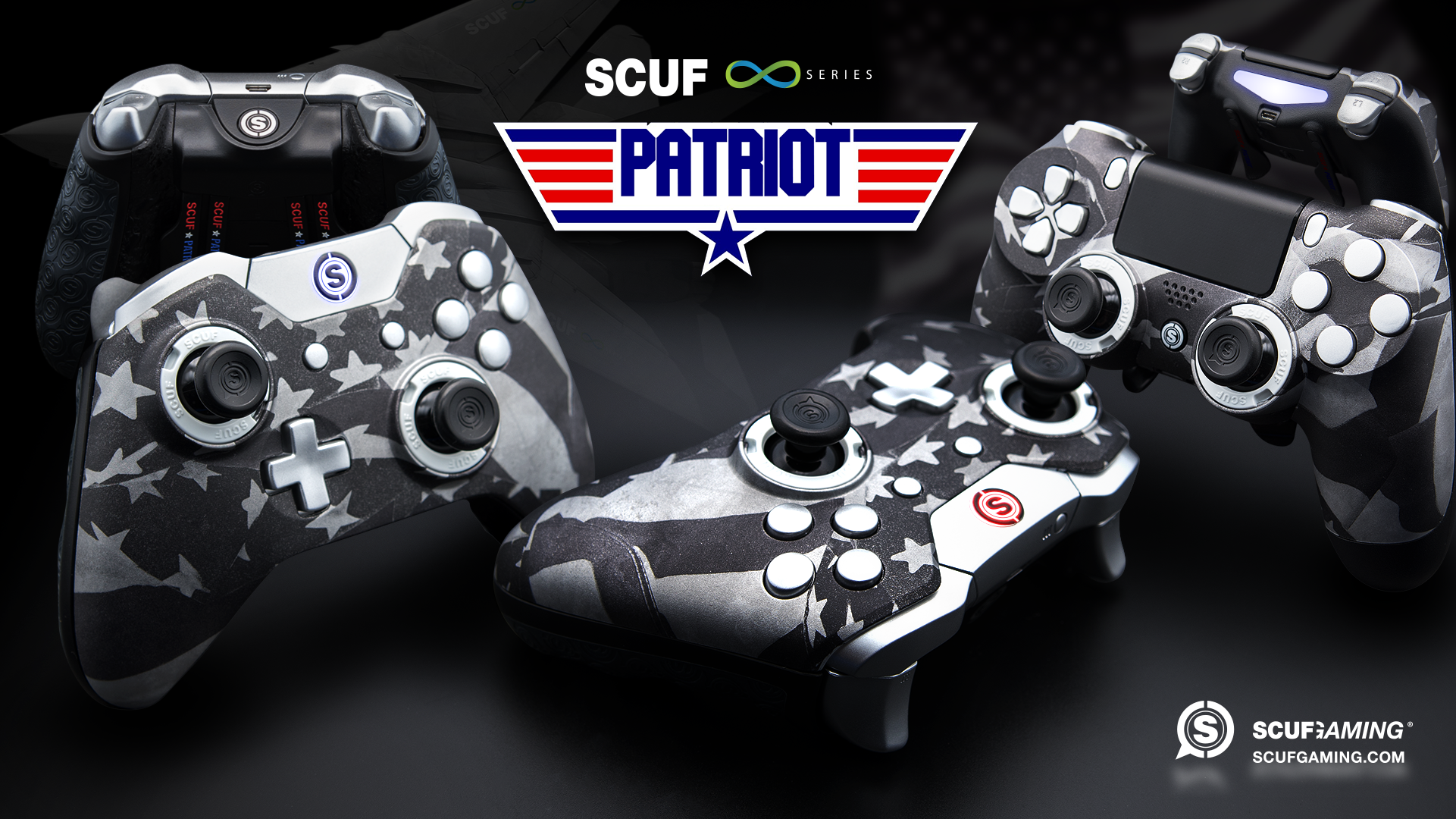 Playstation Ps4 Custom Controllers Scuf Gaming Ps4 Game Controller Control