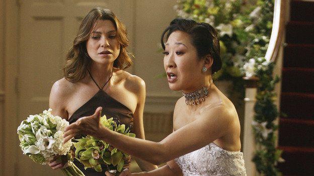 Fast Am Ziel 3x25 Meredith Grey Und Cristina Yang Greysanatomy Greysanatomyabc Greysanatomyprosieb Greys Anatomy Greys Anatomy Season 3 Greys Anatomy Season