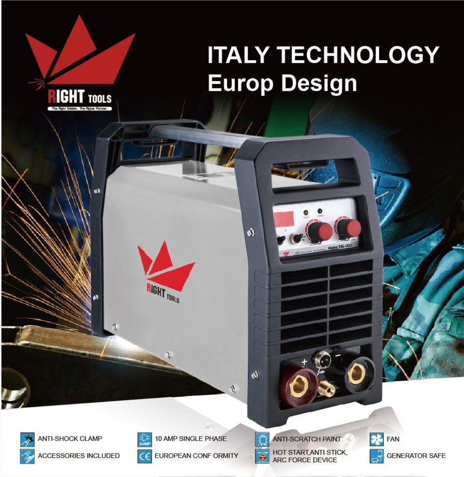 MMA Tig dc lift 160amp argon high frequency aluminium