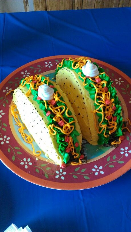 how to make a taco cake! | food & drink | pinterest | taco cake