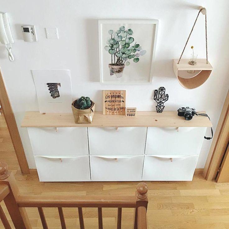 """IKEA España on Instagram: """"@mihogartienealma organiza un recibidor en cualqui...   Arredamento Casa ? #photosites"""