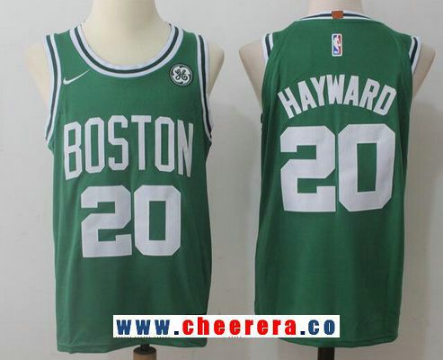 e5c546f217a ... closeout mens boston celtics 20 gordon hayward green 2017 2018 nike  swingman stitched nba jersey ebd65