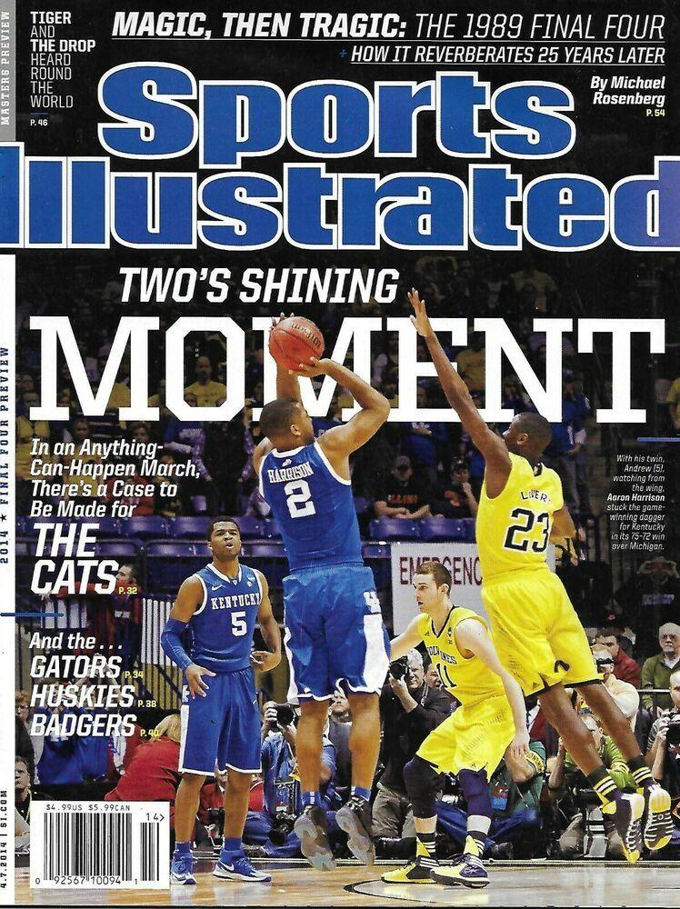 Sports Illustrated Magazine Kentucky Wildcats Philadelphia