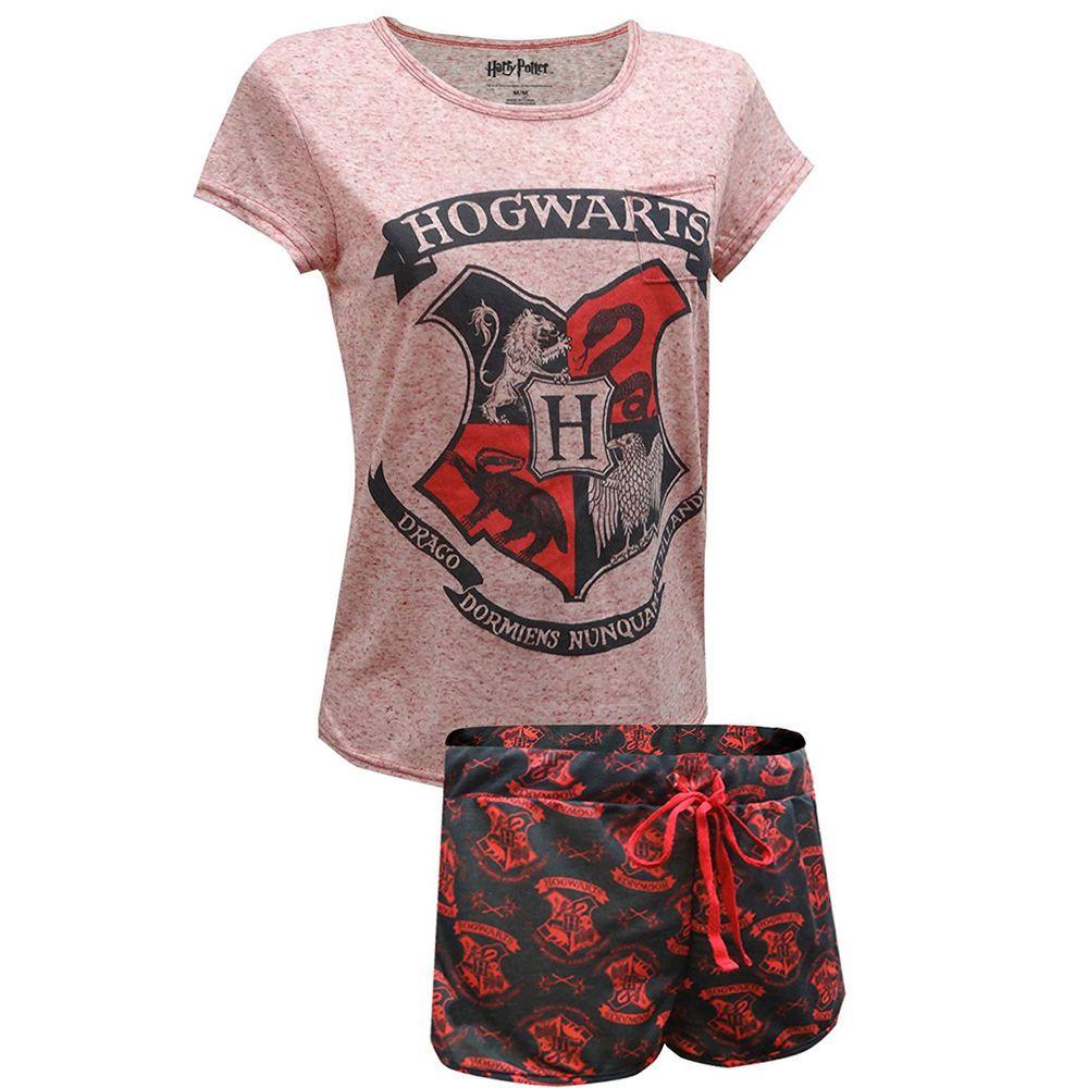 Mens Harry Potter Pyjamas Hogwarts Gryffindor Small to X-large