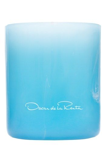 Oscar de la Renta 'Something Blue' Candle available at #Nordstrom - cute gift idea