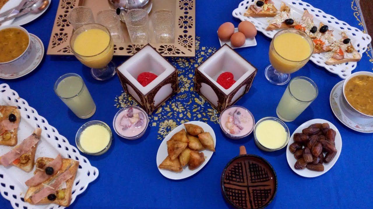 روتيني في تحضير مائدة فطور شهر رمضان رائعة و سهلة جدا مطبخ أم هداية Sugar Cookie Desserts Food