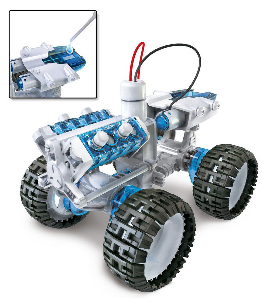 Educational car toys  New Salt Water Fuel Cell x Car Kit For Kids toys Educational  Car