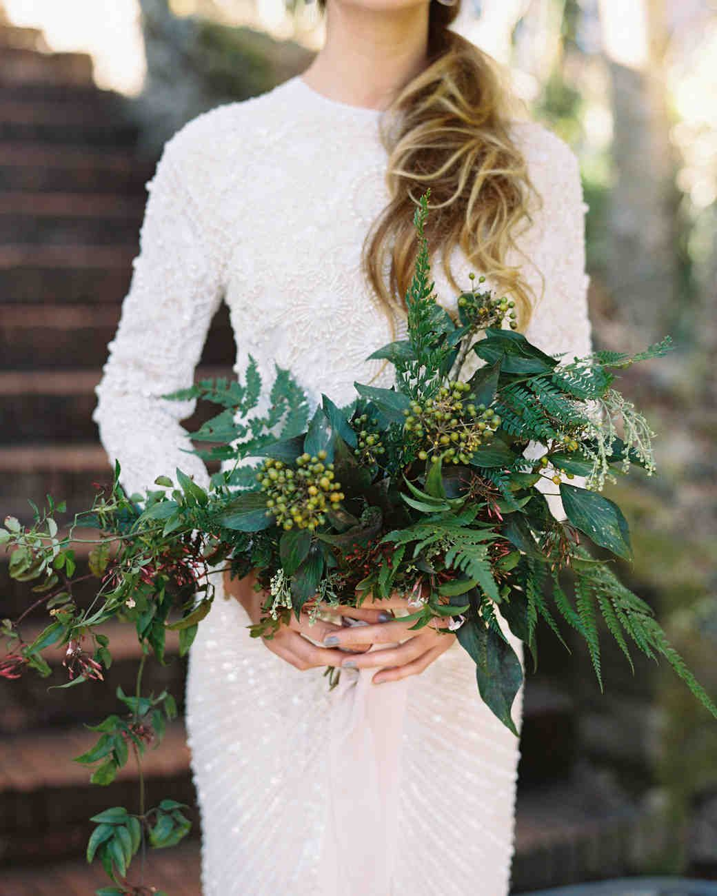20 Stunning Wedding Bouquets With Ferns Bridal Beauty Bridal