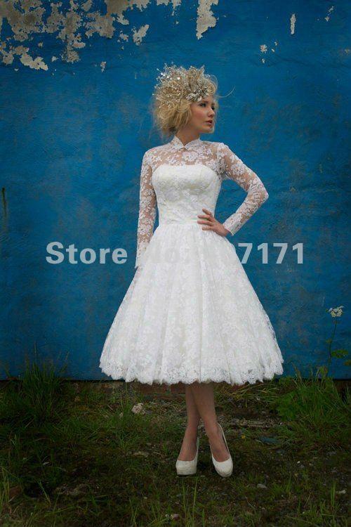 omg this is it.   Wedding ideas   Pinterest   Short lace wedding ...