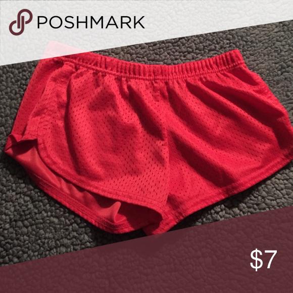 Soffe shorts Coral colored mesh soffe shorts Soffe Shorts