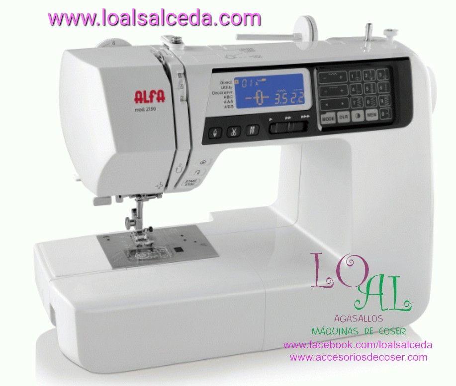 maquina de coser Alfa, alfa 2190, maquina de coser