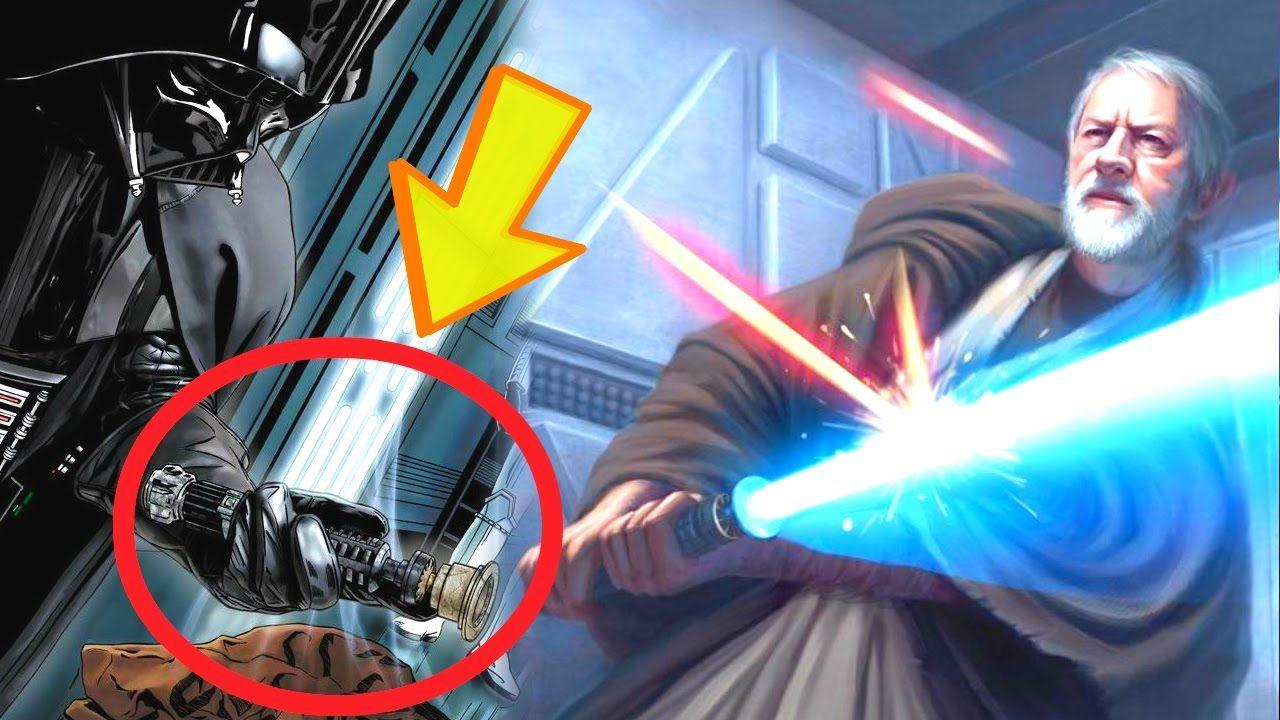 Qué Pasó con el Sable de Luz De Obi Wan Kenobi - Star Wars Apolo1138