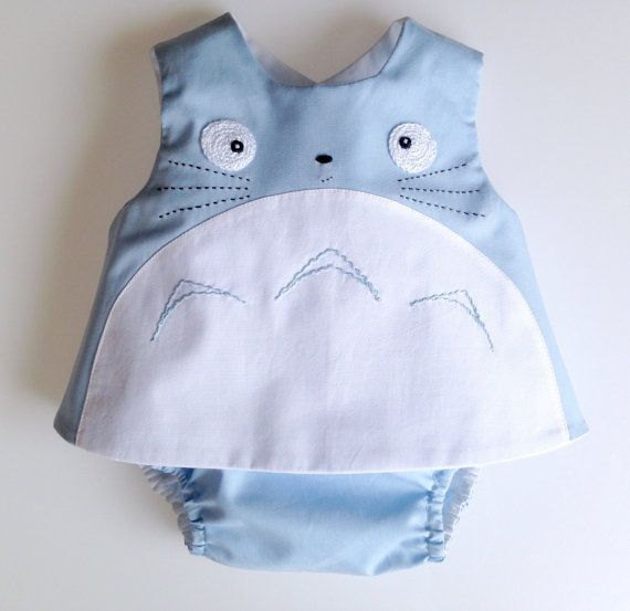 Blue Totoro baby outfit , baby totoro outfit, my neighbor totoro ...