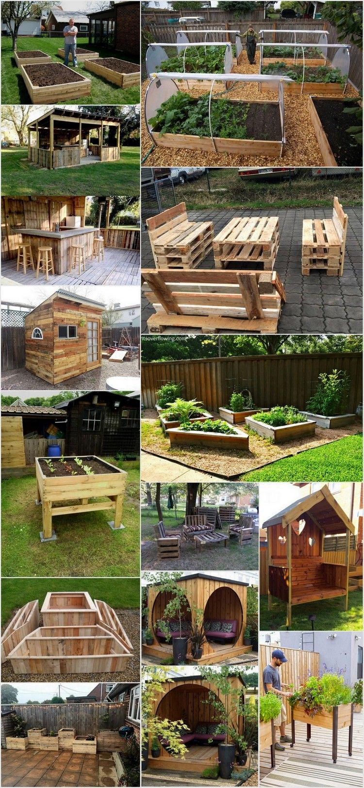 Clever Ways to Decor Your Garden for this Summer with Pallets ...