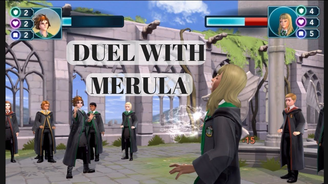 Duel With Merula Harry Potter Hogwarts Mystery Dueling Hogwarts Mystery Hogwarts Harry Potter Hogwarts