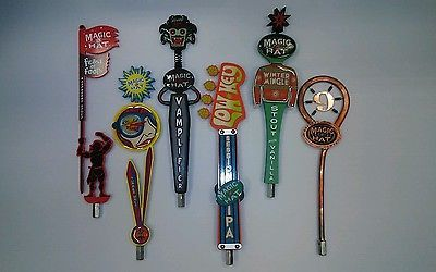 ** COWBOYS ** BEER Tap handle display HOLDS 18 **  BAR OPEN SIGN
