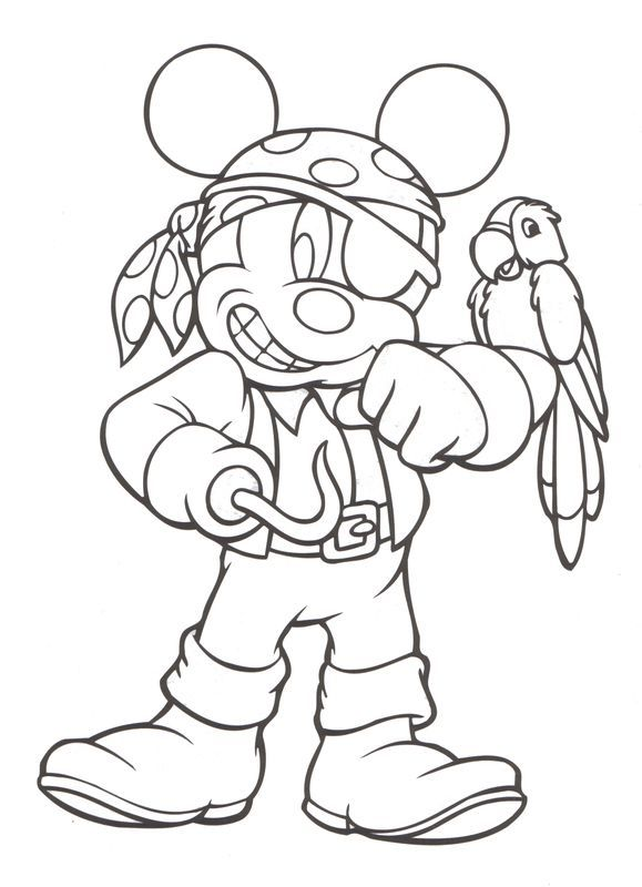 Coloriage Mickey Et Compagnie Pirate Coloring Pages Halloween Coloring Pages Halloween Coloring