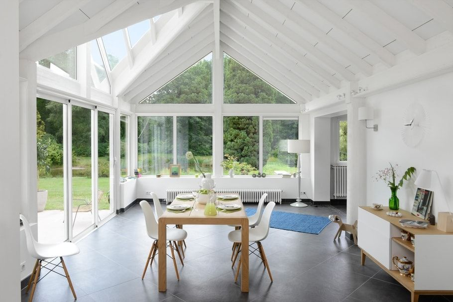 La véranda en bois, une extension pleine de charme Verandas and - cuisine dans veranda photo