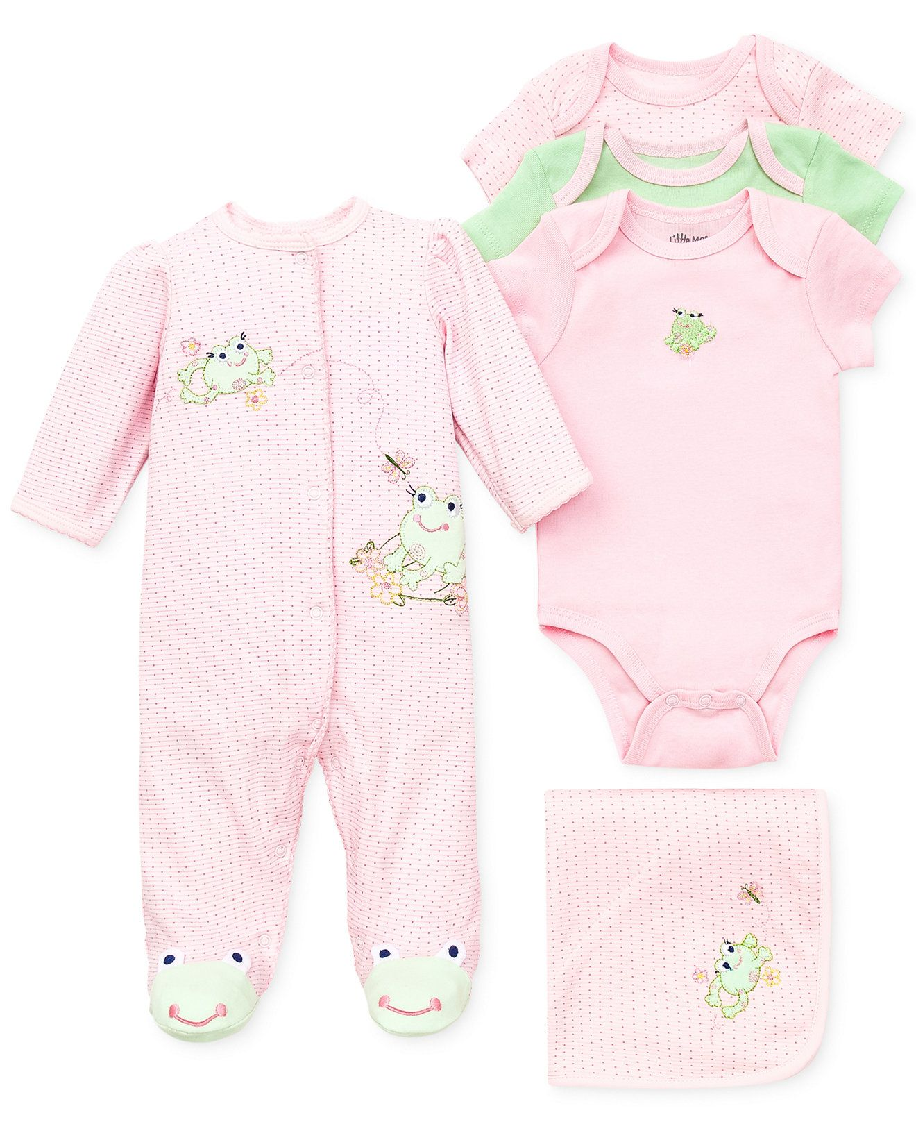 Little Me Baby Girls Sweet Frogs Gift Bundle & Reviews - Sets