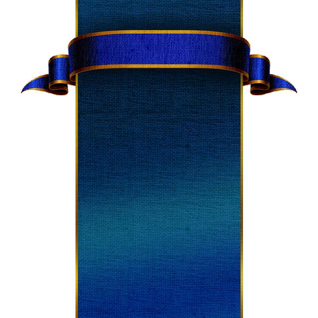 Medieval Blue Banner Imagens De Fundo Vetores Png