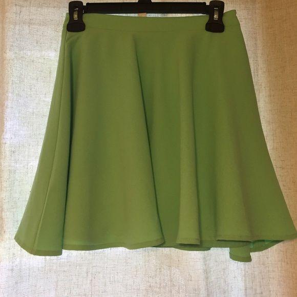 Mint Skater Skirt Forever 21 mint colored skater skirt. Forever 21 Skirts Circle & Skater