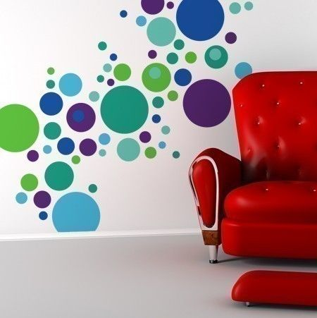 Confetti Wall Graphic Set by michellechristina on Etsy