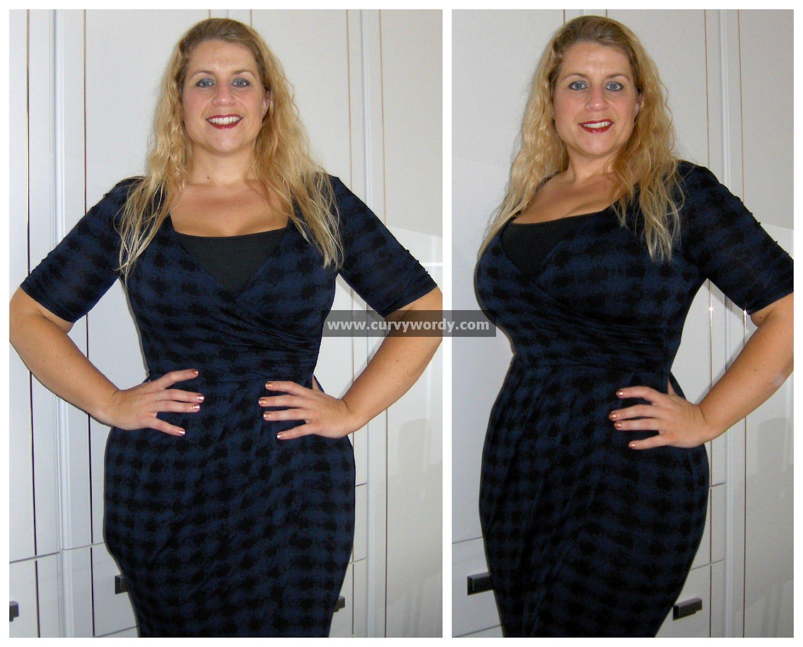 255b537088a Curvy Wordy  Dyeing the George at Asda Moda Printed Jersey Dress ...