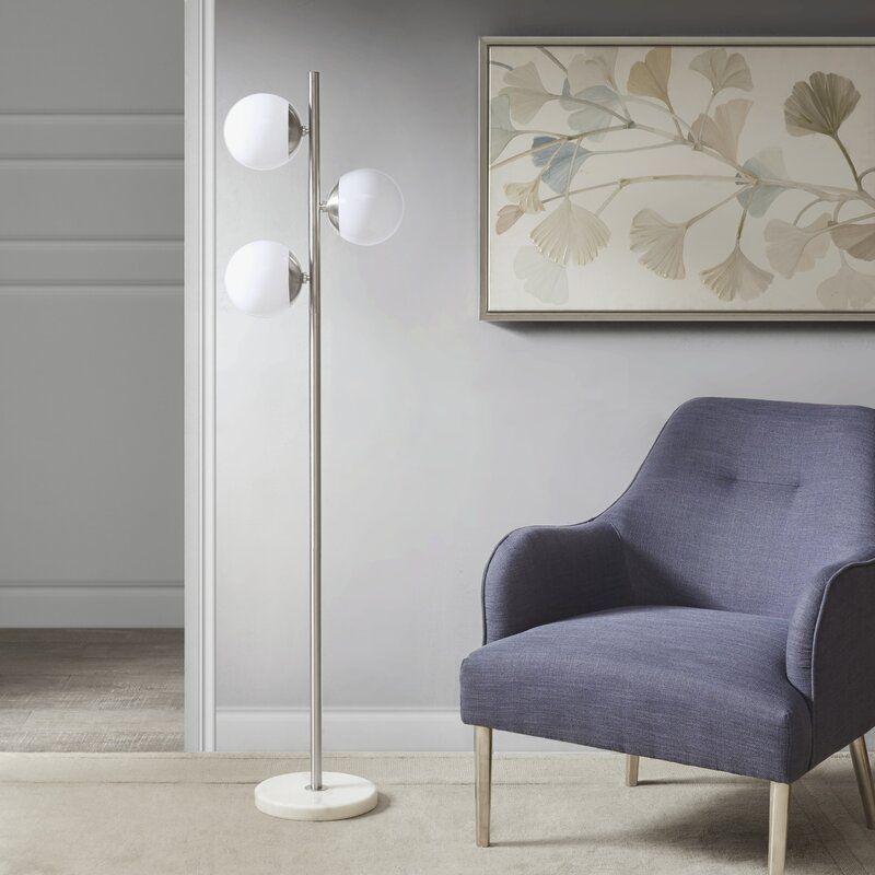 "Ashley 62"" Tree Floor Lamp in 2020 Tree floor lamp"