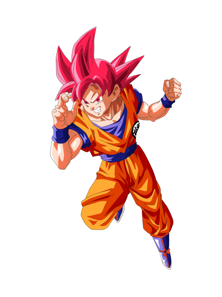 Goku Super Saiyan Dios Personajes De Goku Dibujo De Goku Goku Fase Dios Rojo