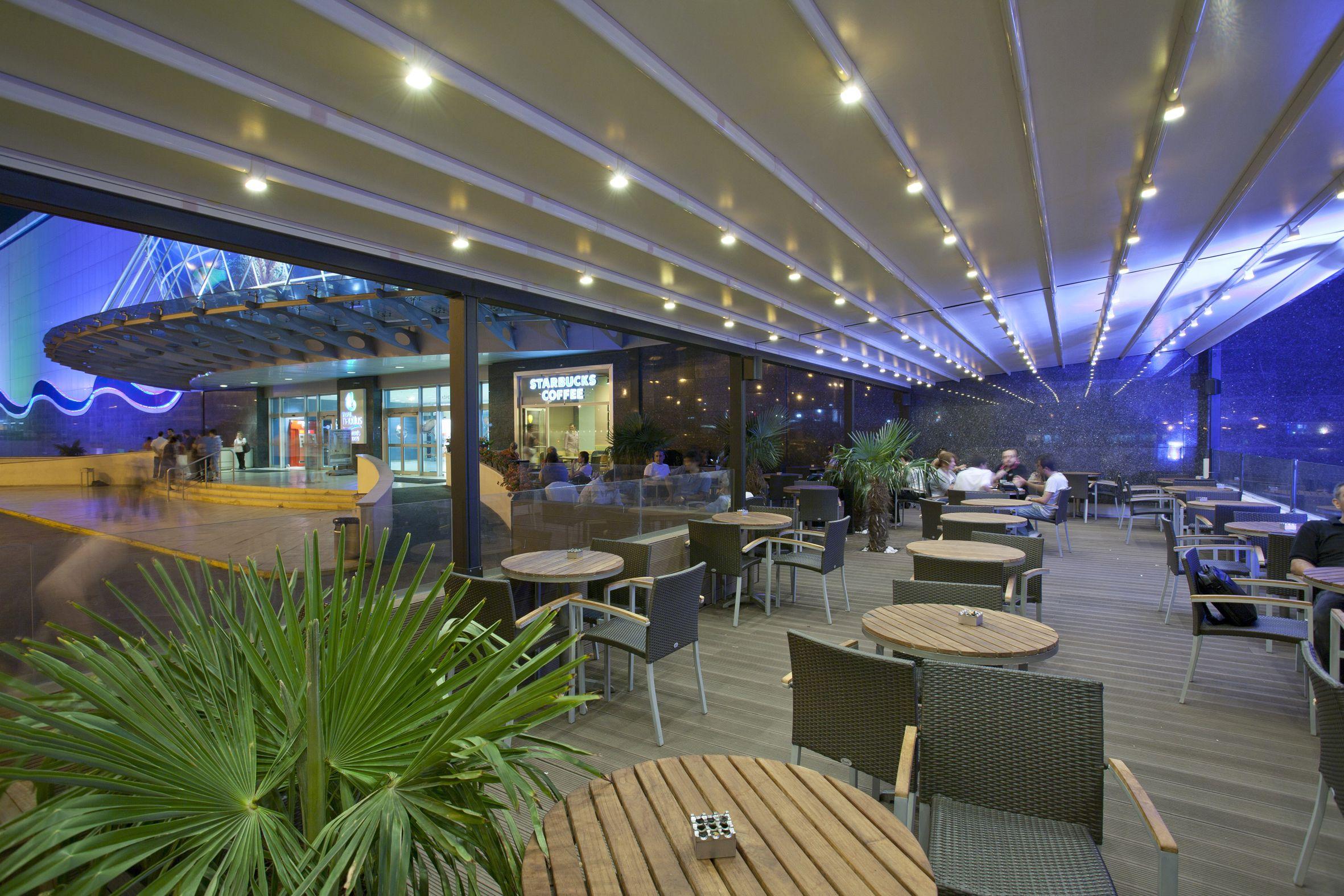 Coperture ideali per i bar e ristoranti pergotenda