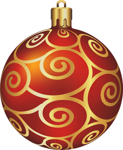 Transparent Large Red Christmas Ball Christmas Ornaments Christmas Cutouts Christmas Balls