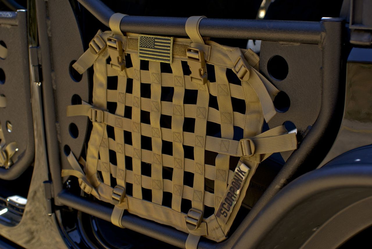 Shop Now For Military Style Tube Door Nets Exoskeletons For Jeep