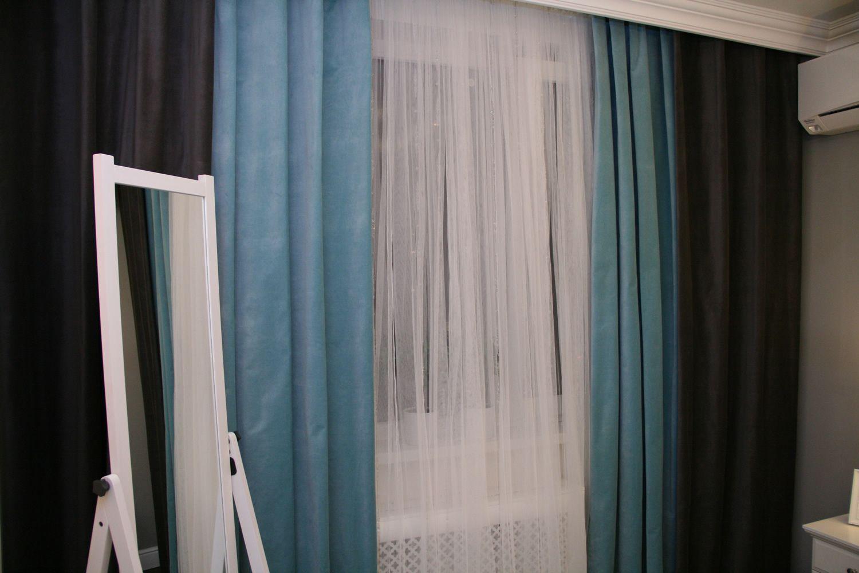 шторы из икеа в интерьере фото