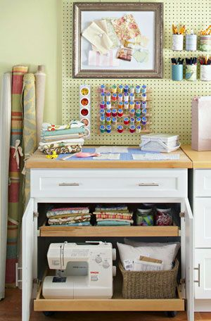Transform a cabinet into a self contained storage area Store fabric