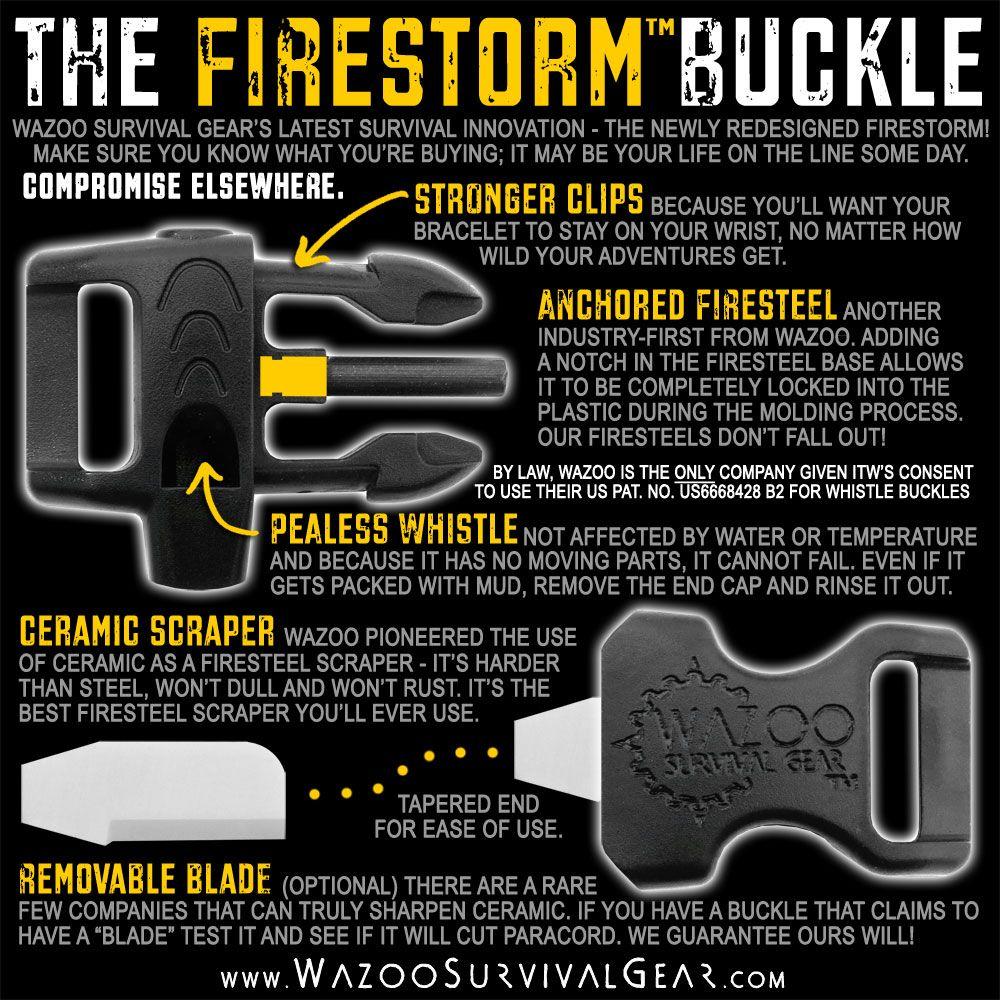 Firestorm Stuff I Want Survival Paracord Gear