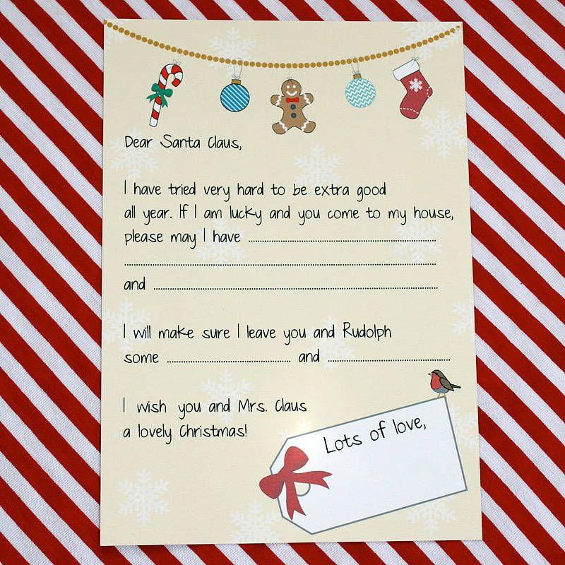 Dear santa letter dear santa santa and christmas letters dear santa letter spiritdancerdesigns Image collections