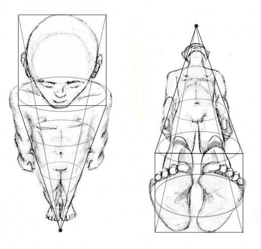 Drawing The Human Figure Perspective Foreshortening