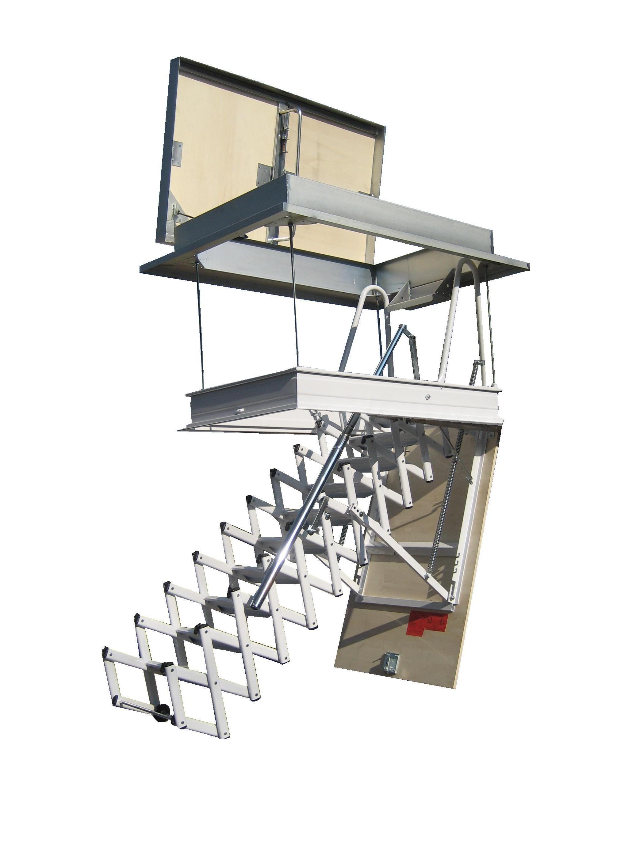 Escaleras plegables y escamoteables para altillo - Escalera plegable altillo ...