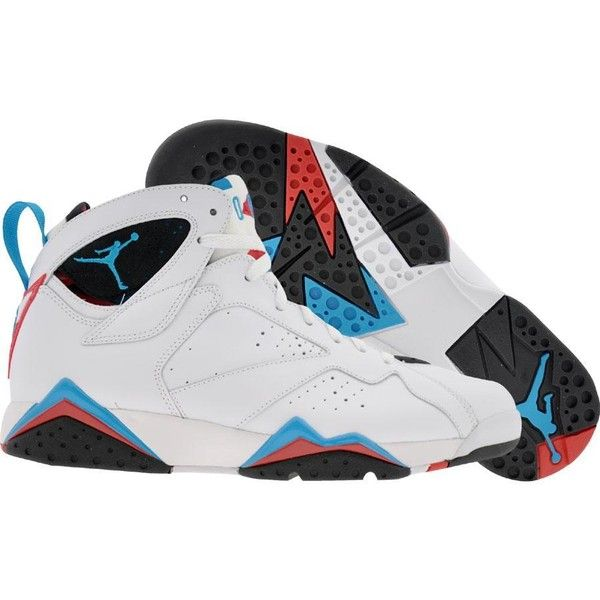 Air Jordan 7 VII Retro Orion Blue (white orion blue black infrared)...  ( 100) ❤ liked on Polyvore 2e12acfea