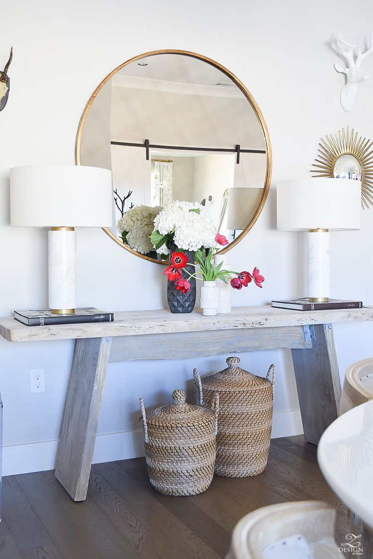 Top 5 Tips For Making Your Home Feel Cozy And Inviting Rustic Console Tables Rustic Consoles Easy Home Decor