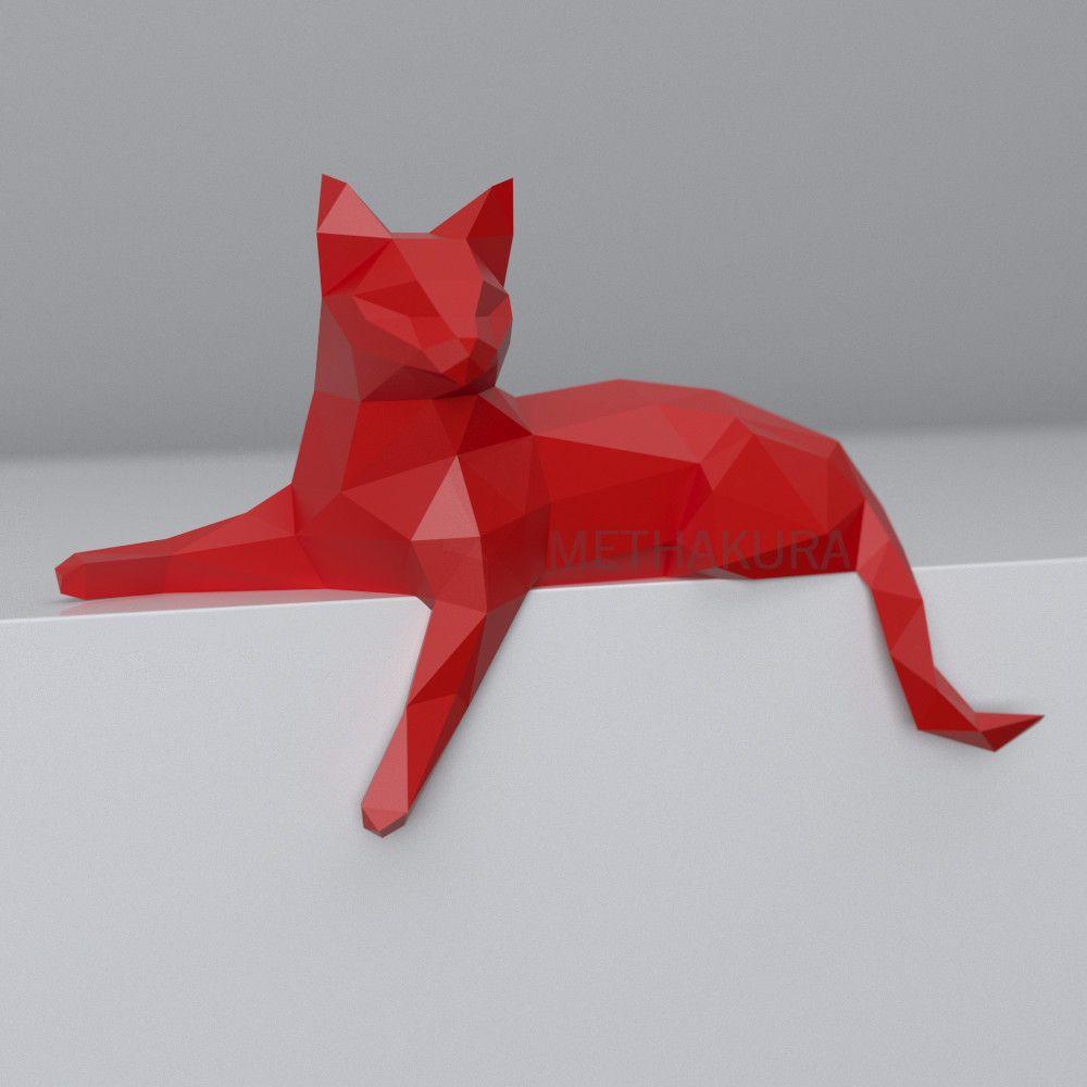 Artstation Free Papercraft Template Cat Masha Bo Papercraft Templates Paper Crafts Origami Diy Paper Crafts Decoration