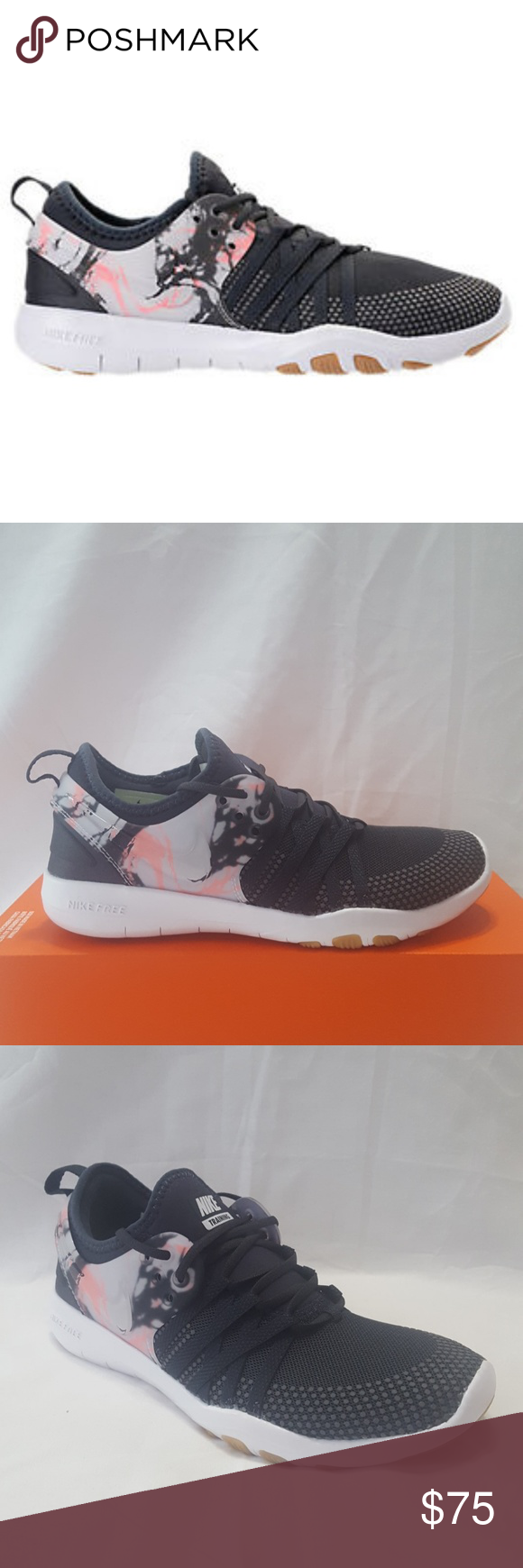 98a5e76fdd29 New Women s Nike Free Trainer 7 Shoe 100% Authentic Description  Woman s  Nike Free TR 7 Condition  Brand New with Box (No Top) Style Code   904651-006 Color  ...