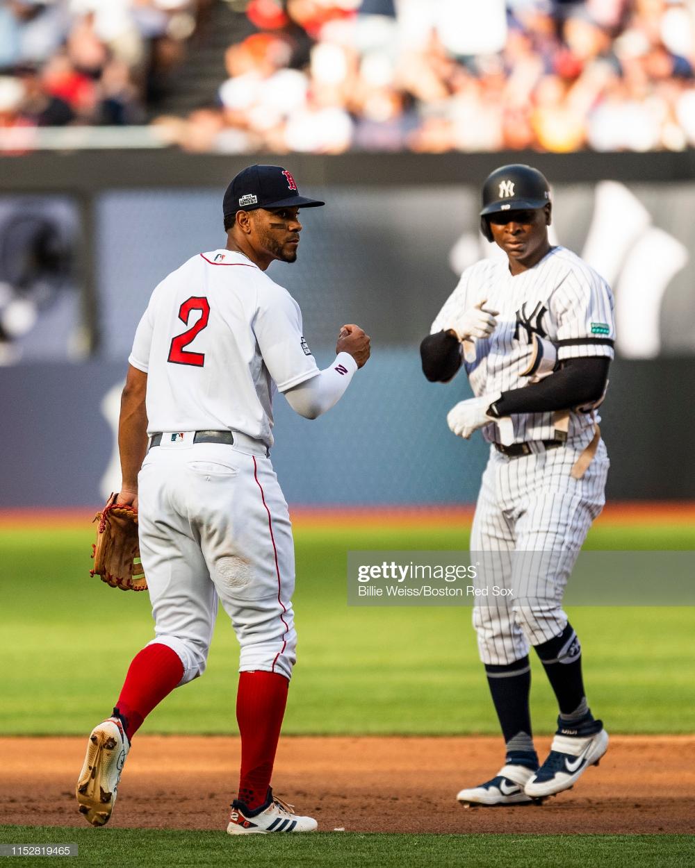 Didi Gregorius Of The New York Yankees Reacts After Hitting A Double New York Yankees Didi Gregorius Yankees Merchandise
